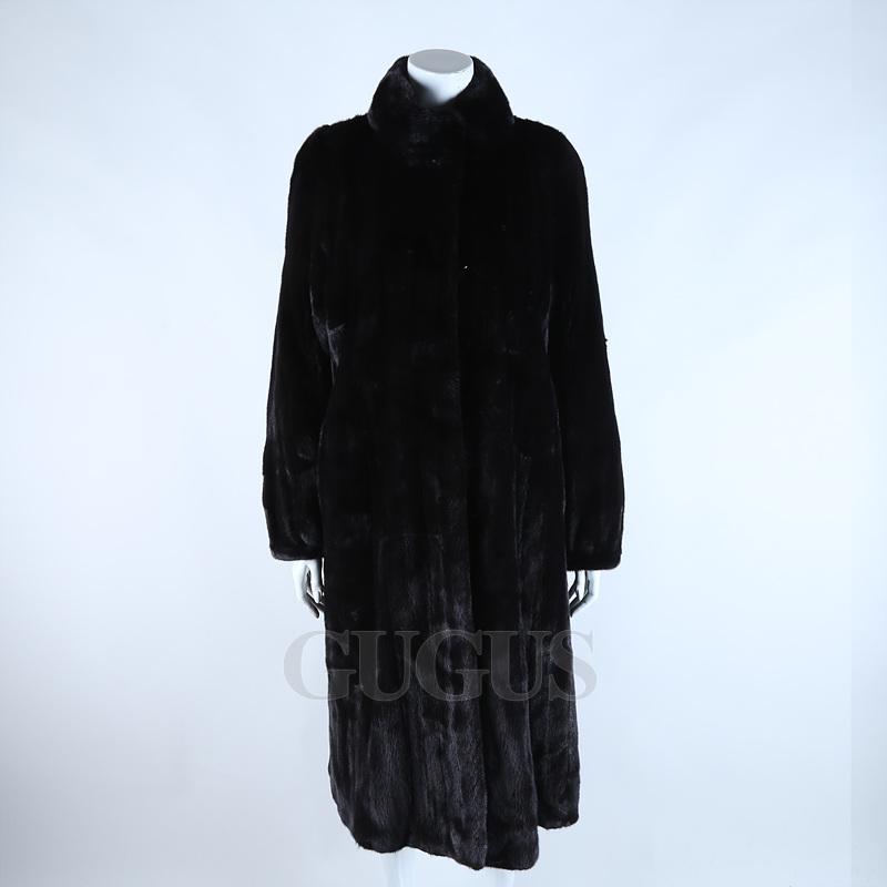 진도 밍크 코트
