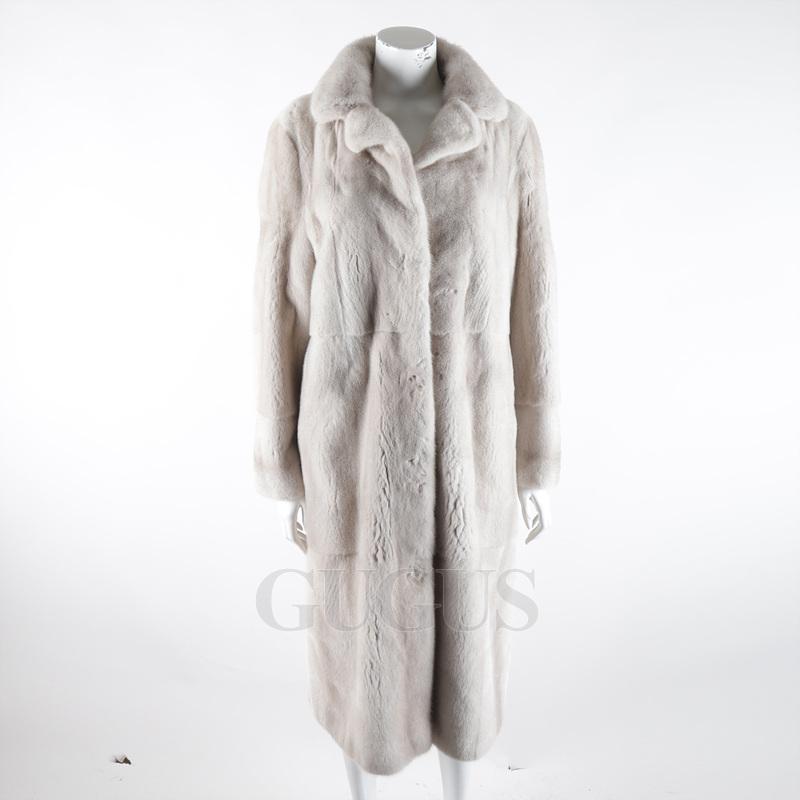 디에스퍼 밍크 코트