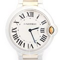 까르띠에 발롱블루 36mm 중형 시계