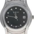 구찌 다이아 스틸 시계 (5500L)