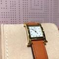 에르메스 H아워 금장도금 시계 (HH1.201)