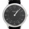 에르메스 슬림 데르메스 다이아 시계 (CA2.230)
