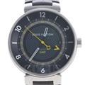 루이비통 땅부르 GMT 스틸 시계 (Q8D30)