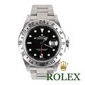 로렉스 16570 익스플로러2 스틸 블랙 40mm