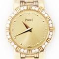 피아제 댄서 다이아베젤 옐로골드18K 시계