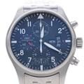 IWC 파일럿 크로노 스틸 시계 (IW377704)