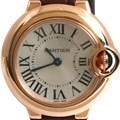 까르띠에 발롱블루 골드 시계 (스몰)