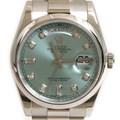 로렉스 플래티늄 다이아 시계 (118206)