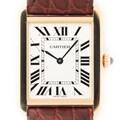 Cartier 까르띠에 탱크솔로 라지 시계
