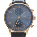 IWC 포르투기스 크로노 골드 시계