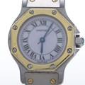 까르띠에 산토스 콤비 시계