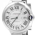 까르띠에 발롱블루 스틸 시계 (라지)
