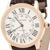 까르띠에 롱드 골드 시계 (XL)
