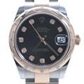 로렉스 10P 다이아 콤비 시계 (178341)