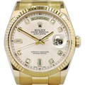 ROLEX Oyster Perpetual Day-Date 18K금통36mm
